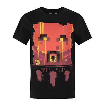 Minecraft Glimpse Boy's Short Sleeve T-Shirt