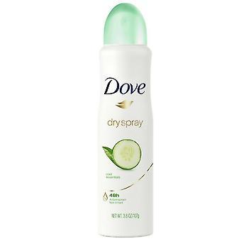 Dove dry spray antiperspirant deodorant, cool essentials, 3.8 oz