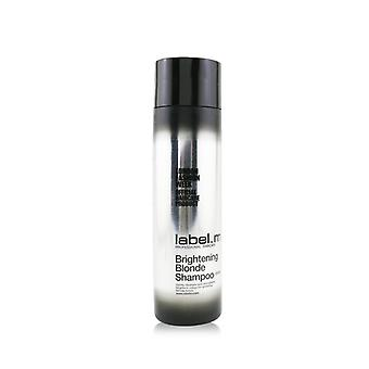 Label.M Brightening Blonde Shampoo (Gently Cleanses and Strengthens, Brightens Colour For Glistening Blonde Tones) 300ml/10oz