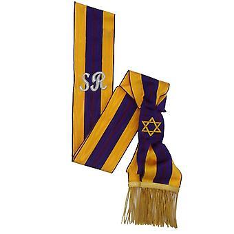 Order of the secret monitor - member - past supreme ruler sash