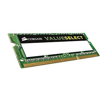 Corsair CMSO8GX3M1A1600C11 Value Select 8 GB Memory (1x8 GB), DDR3, 1600 MHz, CL11