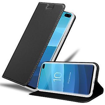 Case para Samsung Galaxy S10 PLUS Caso de telefone dobrável - Capa - com função de suporte e bandeja de cartão