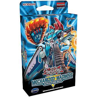Yu-Gi-Oh! - Structure Deck - Mechanized Madness - Kort Spel