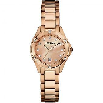 Bulova 97W101 Damer Diamond armbåndsur