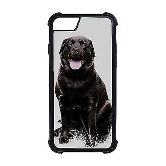 Black Labrador iPhone 7/8 Shell