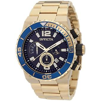 Invicta Pro Diver 1344 Edelstahl Chronograph Uhr