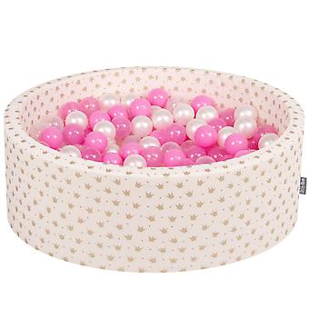 Kiddymoon Baby Ballpit con palle 7Cm / 2.75In certificato Made In EU, Crown