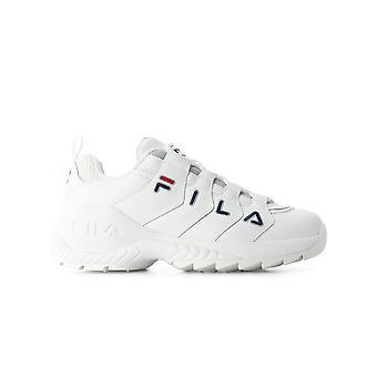 Fila Ezcr008007 Mænd's Hvid Læder Sneakers