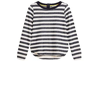 Sandwich Clothing Navy & White Striped Sweatshirt