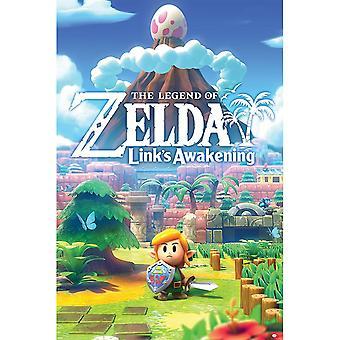 Zelda, Affiche Maxi - Liens Réveil