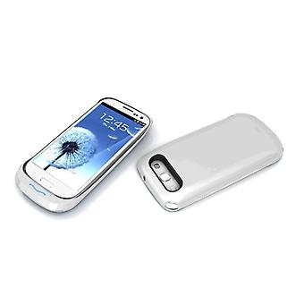 iWalk Chameleon Easy Rechargeable Case for Samsung Galaxy S3 2,800mAh (White)