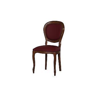 Sedia Dioniso Colore Ciliegio, Rosso Scuro in Legno, L50xP50xA95 cm