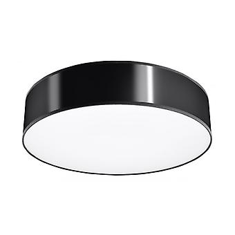 Arena Ceiling Lamp Black Pvc 3 Bulbs