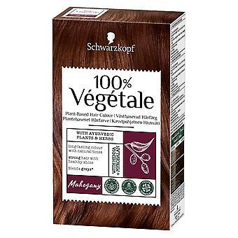 Schwarzkopf 3 X Schwarzkopf 100% Vegetale Hair Color - Mahogany