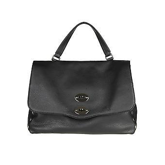 Zanellato 61311802 Women's Black Leather Handtas