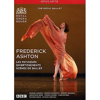 Les Patineurs Divertissements Scenes De Ballet [DVD] USA import
