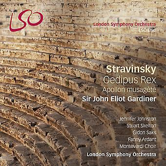 Stravinsky/London Symphony Orchestra/Gardiner - Oedipus Rex Apollon Musagete [SACD] USA import