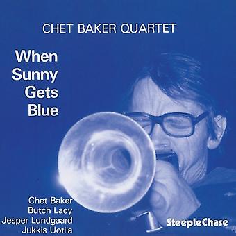 Chet Baker - When Sunny Gets Blue [CD] USA import