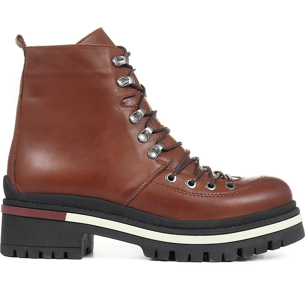 Jones Bootmaker Lace-up Leather Hiker Boot