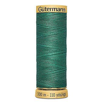 Gutermann 100% Natural Cotton Thread 100m Code couleur main et machine - 8244