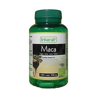 Organic Black Maca 100 capsules of 500mg
