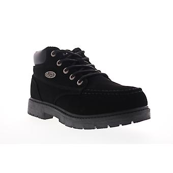 Lugz Loot Slip Resistant  Mens Black Lace Up Ankle Boots