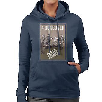 Action Man Hungover Women's Hooded Sweatshirt
