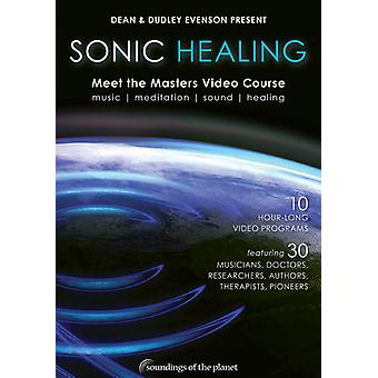 Evenson, Dudley & Dean - Sonic Healing: Meet the Masters Video Course [DVD] USA import