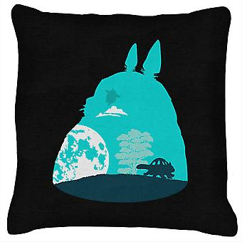 My Neighbor Totoro Sky With Catbus Cushion
