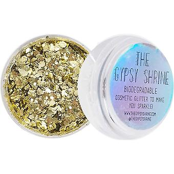Shrine High Quality Biodegradable Chunky Glitter - Gold 5g