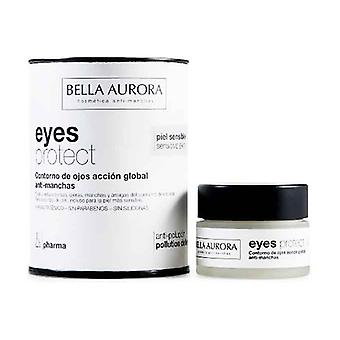 Eyes Protect Eye Contour Action Global Pharma 15 ml of cream