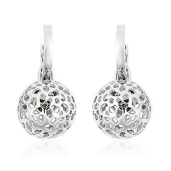 RACHEL GALLEY Drop Dancke Diopside Boucles d'oreilles pour femmes Sterling Argent, 0.58 Ct