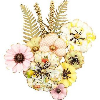 Prima markedsføring frukt paradis blomster sitron lime