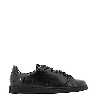 Valentino Garavani Uy2s0c04mmki0no Men's Black Leather Sneakers