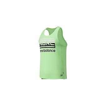 New Balance Painettu Impact Run Singlet MT01233EGL koulutus ympäri vuoden miesten t-paita