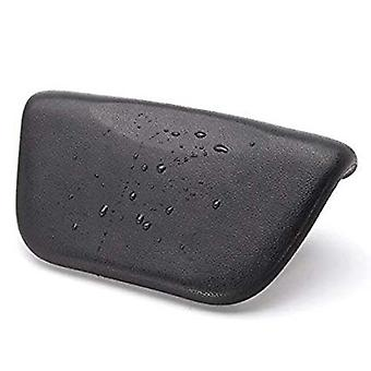 Hot Spa Pu Bath Tub Pillow Cushion With Non Slip Suction Cups - Ergonomic Home Spa Headrest For Relaxing Head Neck Back
