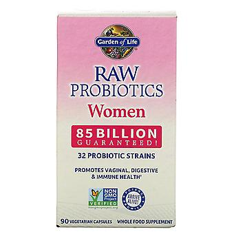 Garden of Life, RAW Probiotics, Women, 85 Billion, 90 Vegetarian Capsules
