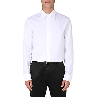 Maison Margiela S50dl0435s43001100 Heren's Wit Katoenen Shirt