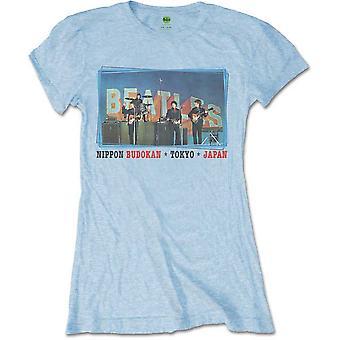 Ladies The Beatles Nippon Budokan Official Tee T-Shirt Female