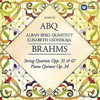 Brahms / Berg, Alban Quartet - strijkkwartetten Op 51 & 67 [CD] USA import