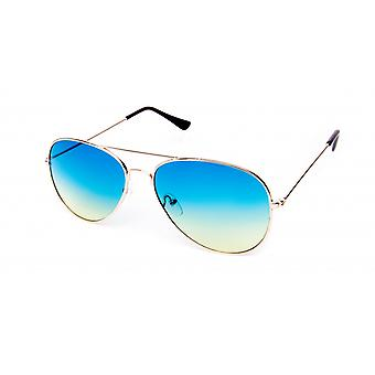 Gafas de sol Unisex Pilot Azul/Oro (20-171)