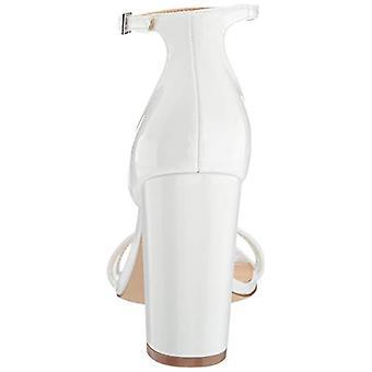 Jewel Badgley Mischka Naiset's Keshia II Sandaali, Valkoinen patentti, 9,5 M US