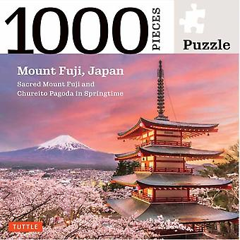 Mount Fuji Japan Jigsaw Puzzle  1000 pieces by Edited by Tuttle Publishing