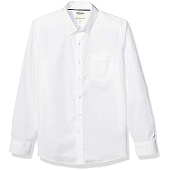 Merk - Goodthreads Men's Standard-Fit Long-Sleeve Comfort Stretch Pop...