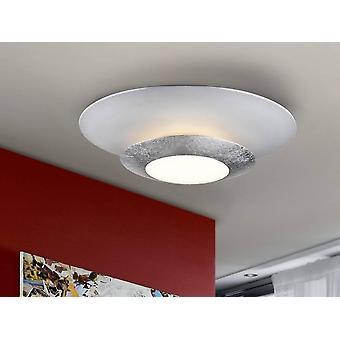 Integrated LED Flush Ceiling Light Round Matt White