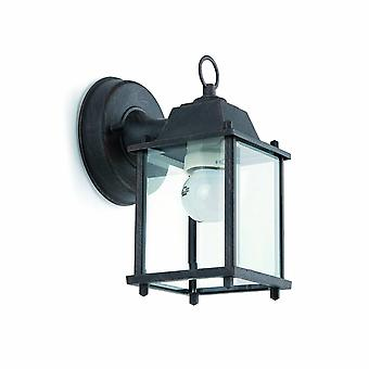 Faro Dado-P - 1 Lanterna de Parede Ao Ar Livre Luz Ferrugem Marrom, E27