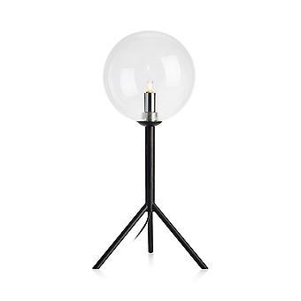 1 Light Indoor Table Lamp Black, G9