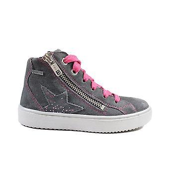 סופרפיט גן עדן 006499-20 אפור סוויד עור בנות נעלי ספורט מגפיים