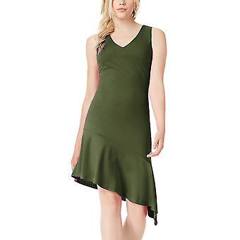 בר 3 | בוהו שקיעה שמלה אסימטרית ללא שרוולים