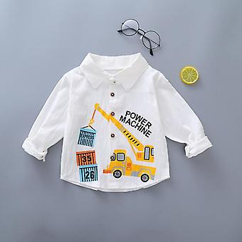 Kids Shirt Tops Kleding Kind Spring Thin Peuter Baby Lange Mouw Tees Baby